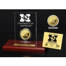 Missouri Tigers 24KT Gold Coin in an Etched Acrylic Desktop Display from The Highland Mint