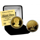 Barack Obama Presidential Inauguration 24KT Gold Coin  from The Highland Mint