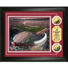 "Alabama Crimson Tide Bryant-Denny Stadium Framed 8"" x 10"" Photograph and Medallion Set from The Highland Mint"