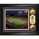 "Auburn Tigers Jordan Hare Stadium Framed 8"" x 10"" Photograph and Medallion Set from The Highland Mint"