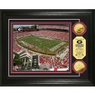 "Georgia Bulldogs Sanford Stadium Framed 8"" x 10"" Photograph and Medallion Set from The Highland Mint"