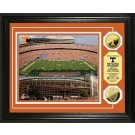 "Tennessee Volunteers Neyland Stadium Framed 8"" x 10"" Photograph and Medallion Set from The Highland Mint"