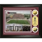 "Texas A &M Aggies Kyle Field Framed 8"" x 10"" Photograph and Medallion Set from The Highland Mint"