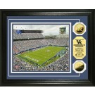 "Kentucky Wildcats Commonwealth Stadium Framed 8"" x 10"" Photograph and Medallion Set from The Highland Mint"