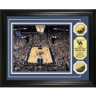 "Kentucky Wildcats Rupp Arena Framed 8"" x 10"" Photograph and Medallion Set from The Highland Mint"
