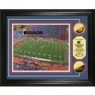 "Kansas Jayhawks Kivisto Field Framed 8"" x 10"" Photograph and Medallion Set from The Highland Mint"