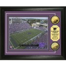 "Kansas State Wildcats Bill Snyder Family Stadium Framed 8"" x 10"" Photograph and Medallion Set from The Highland Mint"