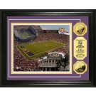 "Louisiana State (LSU) Tigers Stadium Framed 8"" x 10"" Photograph and Medallion Set from The Highland Mint"