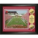 "Louisville Cardinals Papa John's Cardinal Stadium Framed 8"" x 10"" Photograph and Medallion Set from The Highland Mint"