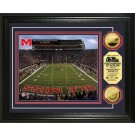 "Mississippi (Ole Miss) Rebels Vaught-Hemmingway Stadium Framed 8"" x 10"" Photograph and Medallion Set from The Highland Mint"