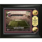 "South Carolina Gamecocks Williams Brice Stadium Framed 8"" x 10"" Photograph and Medallion Set from The Highland Mint"