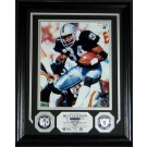 "Bo Jackson 8"" x 10"" Framed Photograph and Medallion Set from The Highland Mint"