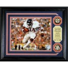 """Walter Payton 8"""" x 10"""" Framed Photograph and Medallion Set from The Highland Mint"""