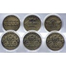 Washington Redskins Bronze Super Bowl Collection Coins from The Highland Mint