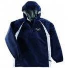 """Hurricane"" Micro-Cord™ Polyester Pullover Jacket with Heather Jersey Lining (2X-Large) from Holloway Sportswear"