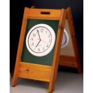 Cedar Starter Clock
