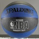 "Spalding NBA Black and Blue Varsity Basketball (Size 28.5"")"