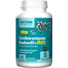 Jarrow Formulas Sacharomyces Boulardii + MOS Probiotic Supplement (90 Capsules)