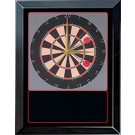 "Dartboard Scene Award Series Wall Clock (Dartboard 11"" x 14"")"