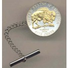 Buffalo Nickel (2005) Two Tone Coin Tie / Hat Tack