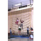 18' W x 18' H Indoor Climbing Net
