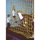12' W x 12' H Indoor Mesh Climbing Net