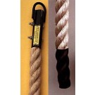 Manila Climbing Rope with Polyboot End - 18 Feet Long