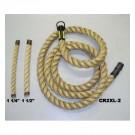 "2"" x 18' Manila Climbing Rope"