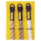 "1 1/2"" x 18' Polyplus / Braided Indoor Gymnasium Climbing Rope"