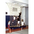 12' W x 14' H Heavy-Duty Indoor Climbing Net