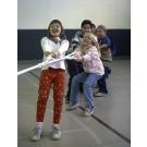 50'  Spun Poly Tug-O-War Rope with Hand Loops