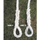 Metal Eye Bottom Anchor for Outdoor Climbing Ropes