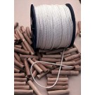 """500' Braided 1/4"""" Synthetic Rope"""