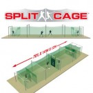 Outdoor Split Cage™ Batting Cage Package for Baseball
