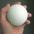 Sting-Free® White Baseballs Dimpled Style - One Dozen