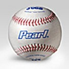 JUGS Pearls® Leather Baseballs Designed for Pitching Machines  (1 Dozen Baseballs)