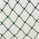 JUGS® #10 Fastpitch Softball Batting Cage Net (#60 Twisted Knotted Black Polyethylene)