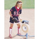 Softball Pitching Machine with Cart from Jugs