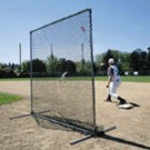 "JUGS Square Protective ""Quick-Snap"" Protective Screen For Baseman"