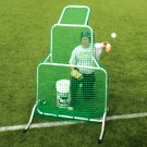 Replacement Netting for the Short-Toss Fixed-Frame Protective Screen from The Jugs Company by
