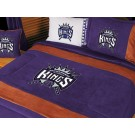 "Sacramento Kings MicroSuede Twin Comforter from ""The MVP Collection"" by Kentex"