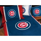 "Chicago Cubs MicroSuede Twin Comforter from ""The MVP Collection"" by Kentex"
