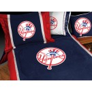 "New York Yankees MicroSuede Twin Comforter from ""The MVP Collection"" by Kentex"