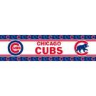 """Chicago Cubs 5"""" x 15' MLB Wall Border from Kentex"""