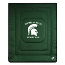 "Michigan State Spartans Jersey Mesh Full/Queen Comforter from ""The Locker Room... by"