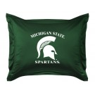 """Michigan State Spartans Coordinating Pillow Sham from """"The Locker Room Collection"""" by Kentex"""