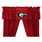 Georgia Bulldogs Coordinating Valance for the Locker Room or Sidelines Collection by Kentex