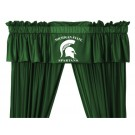 Michigan State Spartans Coordinating Valance for the Locker Room or Sidelines Collection by Kentex