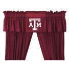 Texas A&M Aggies Coordinating Valance for the Locker Room or Sidelines Collection by Kentex