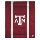 """Texas A & M Aggies Jersey Mesh Full / Queen Comforter from """"The Sidelines Collection"""" by Kentex"""